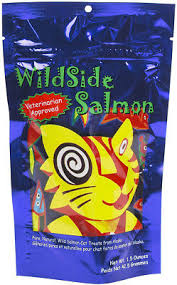 Wildside Salmon Freeze-Dried Cat Treats, 1.5-oz