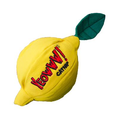 Yeowww! Catnip Lemon Cat Toy