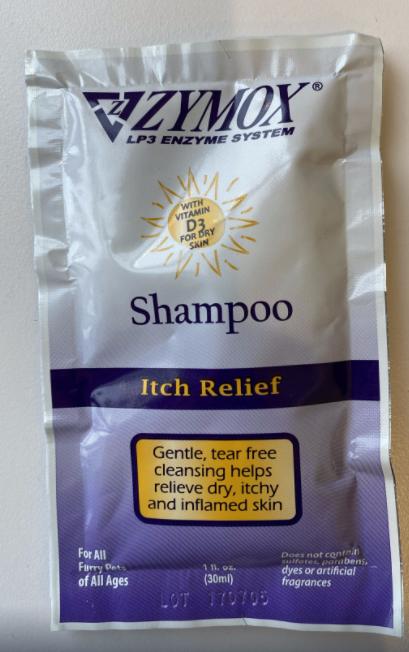Zymox Vitamin D3 Pet Shampoo, 1-oz pouch Size: 1-oz pouch