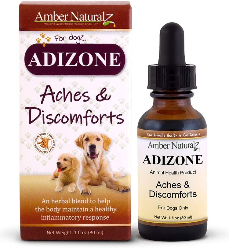 Amber Naturalz Adizone Dog Supplement, 1-oz