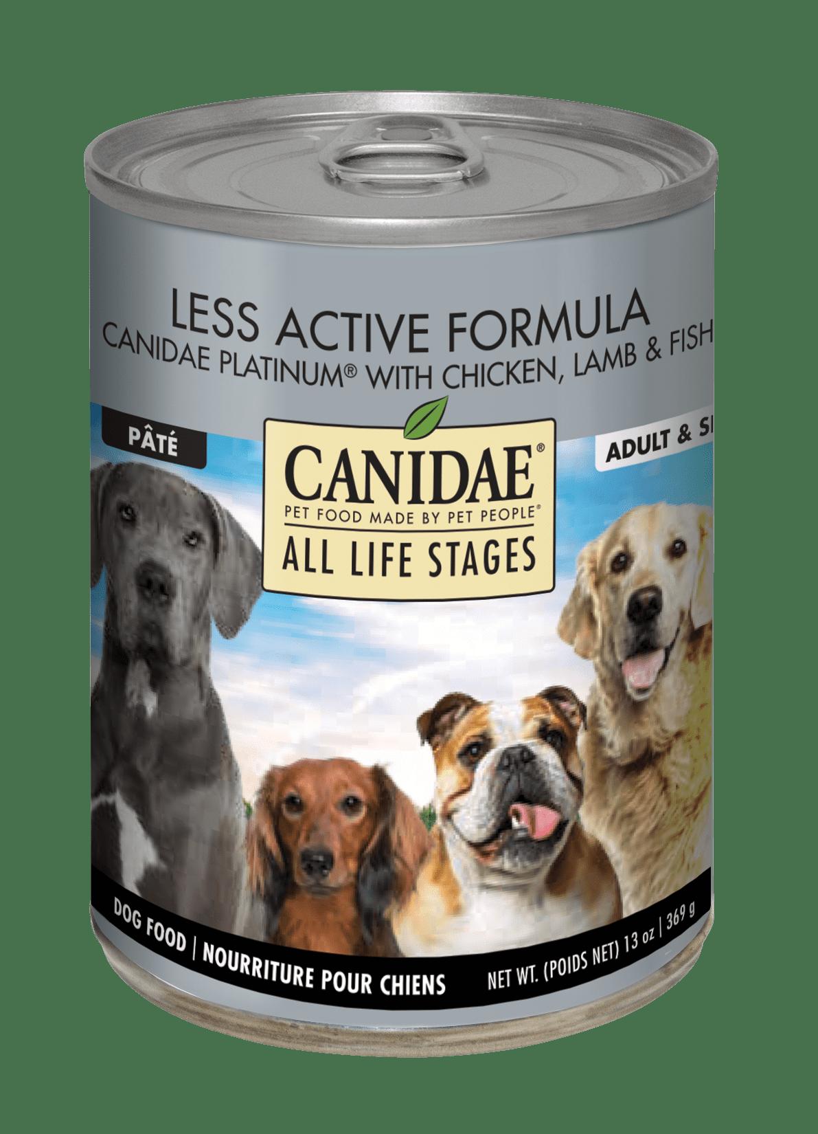 Canidae Life Stages Platinum Formula Canned Dog Food, 13-oz