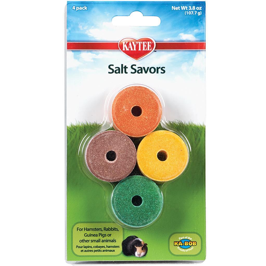 Kaytee Salt Savors Mini Small Animal Treats, 4-pk