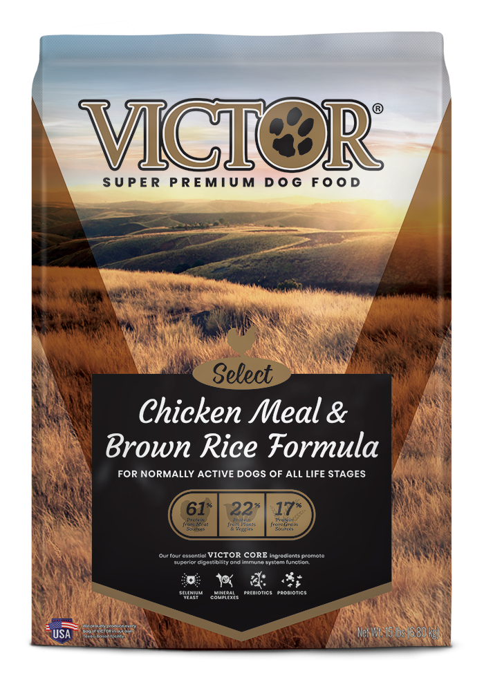 Victor Chicken Meal & Brown Rice with Lamb Meal Dry Dog Food, 40-lb bag