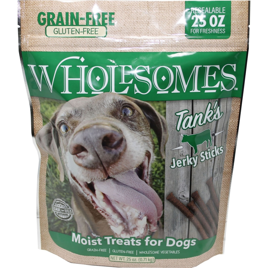 SPORTMiX Wholesomes Tank's Beef Jerky Sticks Dog Treat, 25-oz