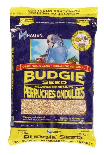 Hagen Parakeet (Budgie) Staple VME Seed Image