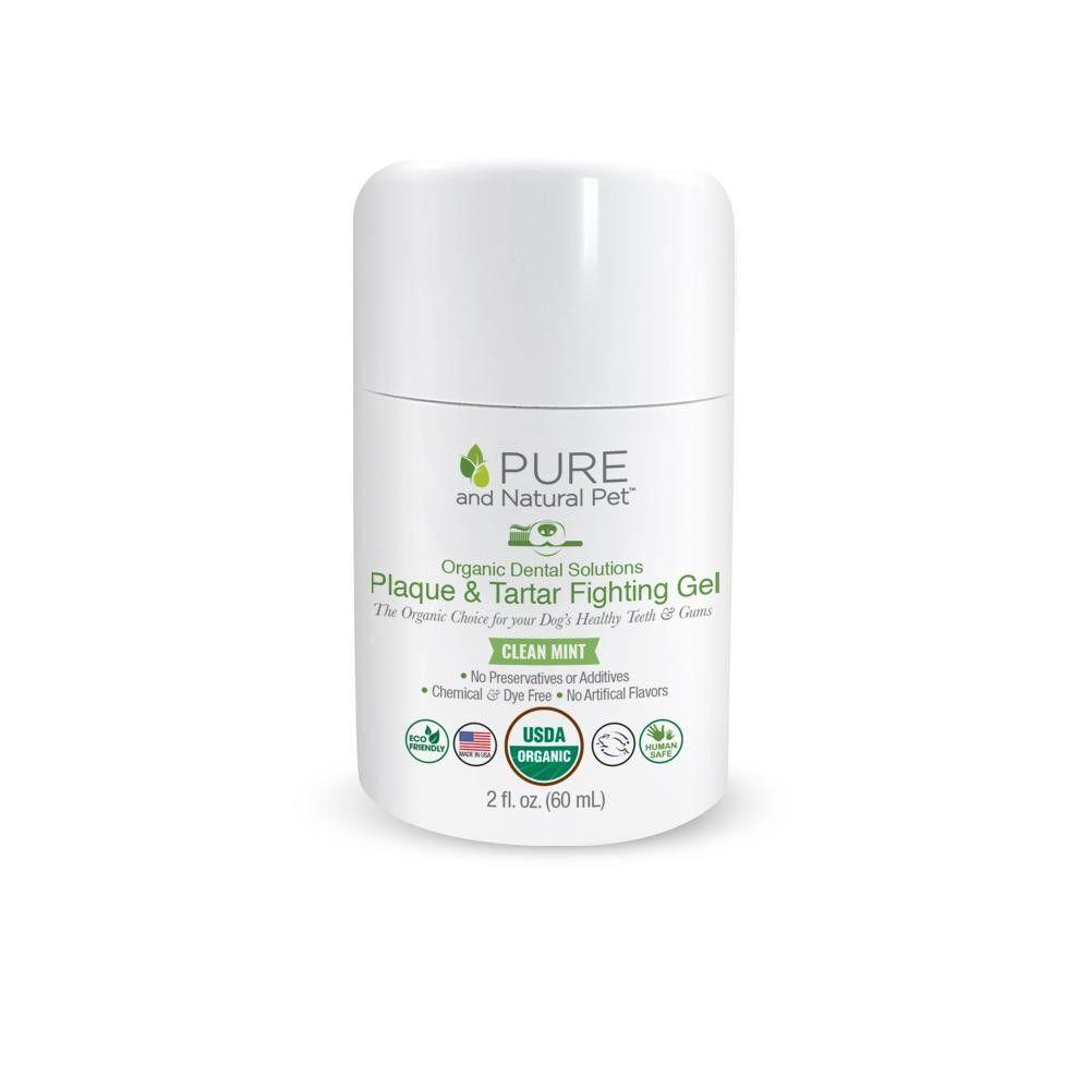 Pura Naturals Organic Dog  Dental Gel, 2-oz