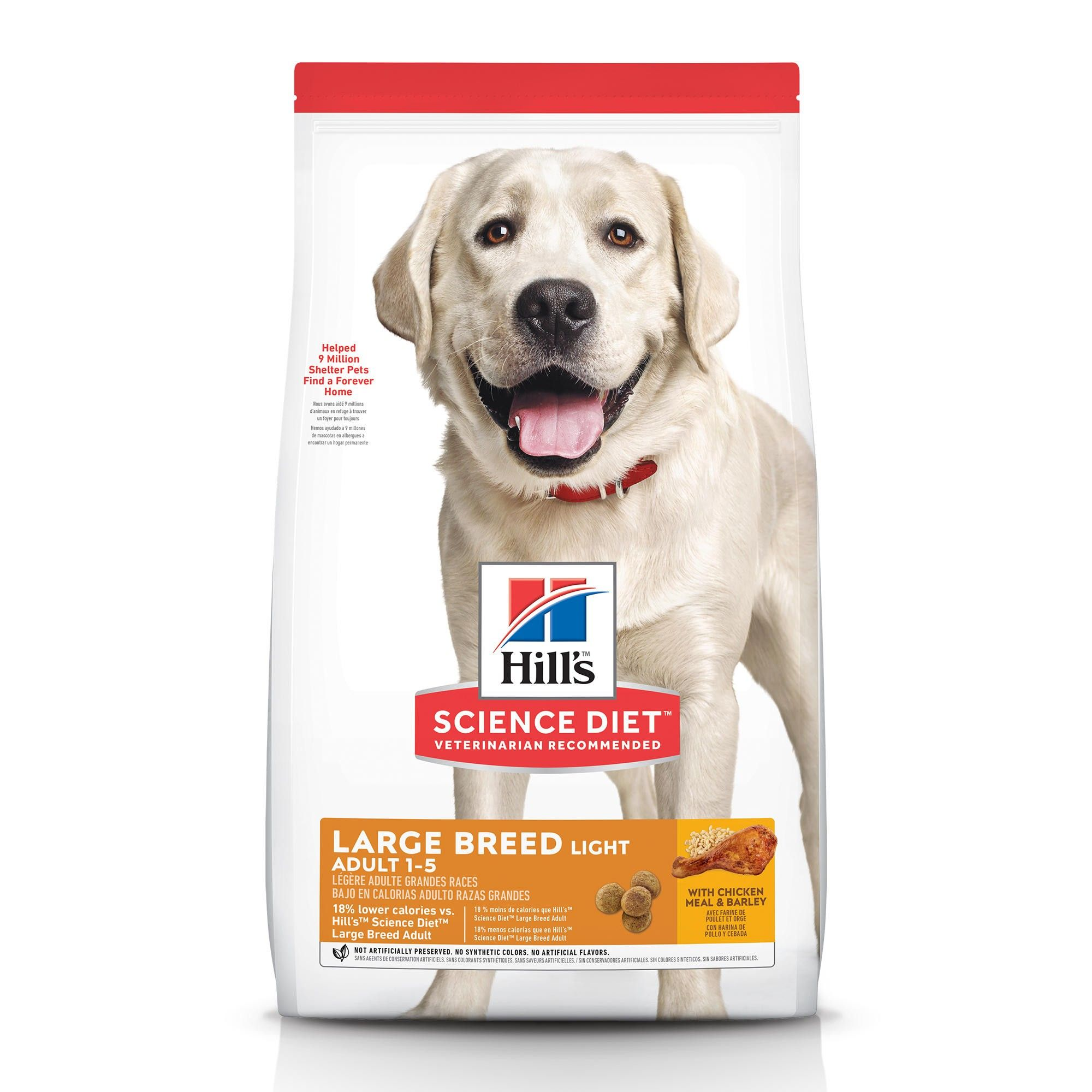 Hill's Science Diet Adult Light Dry Dog Food Image