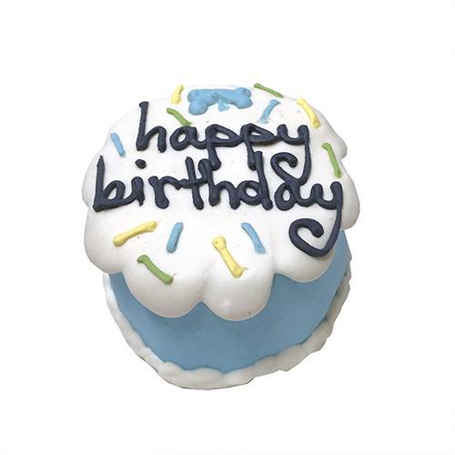 Bubba Rose Birthday Baby Cake Dog Treats, Blue
