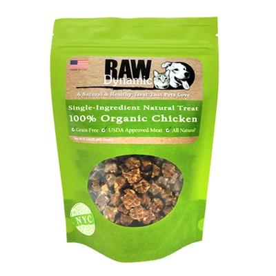 Raw Dynamic Chicken Dog Treats, 3.6-oz