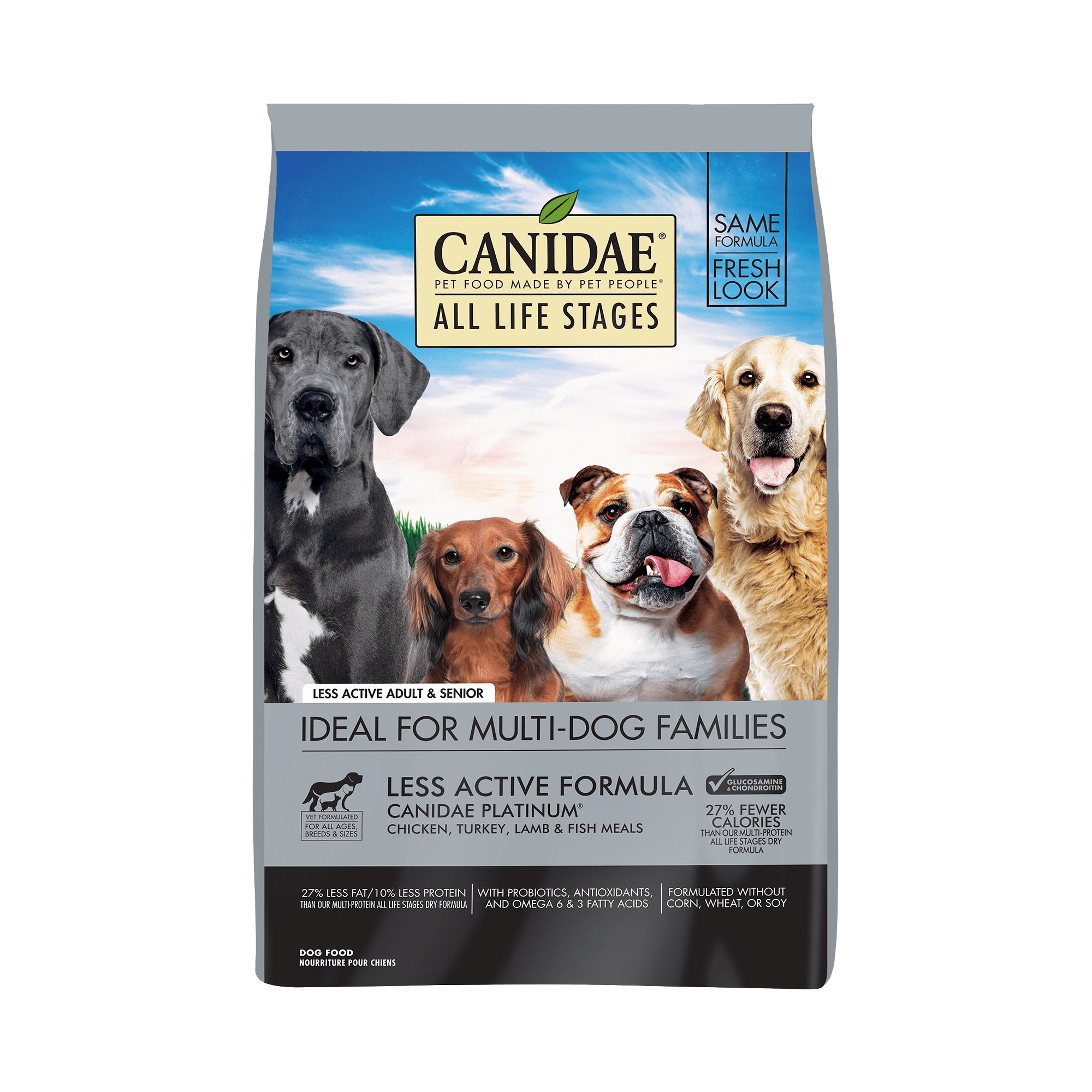 Canidae All Life Stages Less Active Formula Dry Dog Food Image