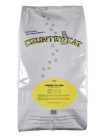 The Great Canadian Dog Food Country Cat Dry Food, 18-kg