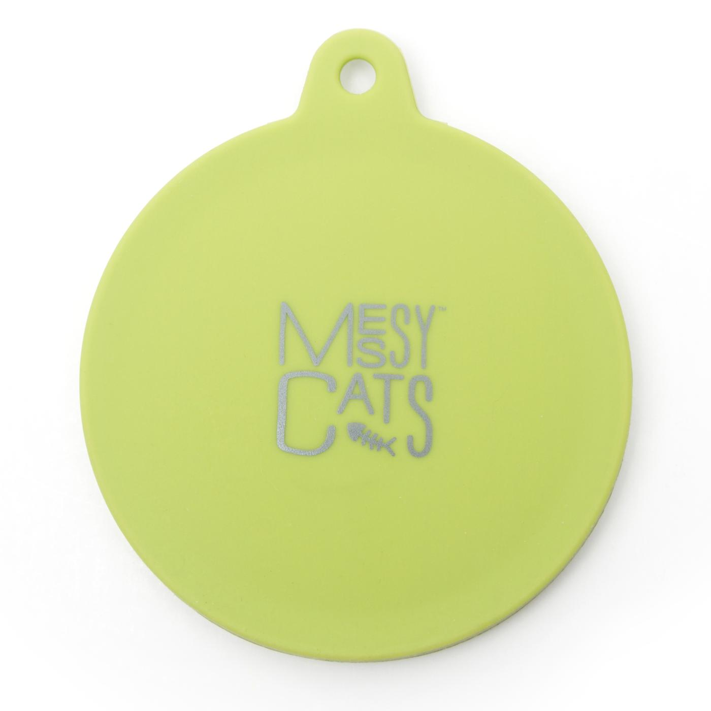 Messy Cats Silicone Can Cover, Green