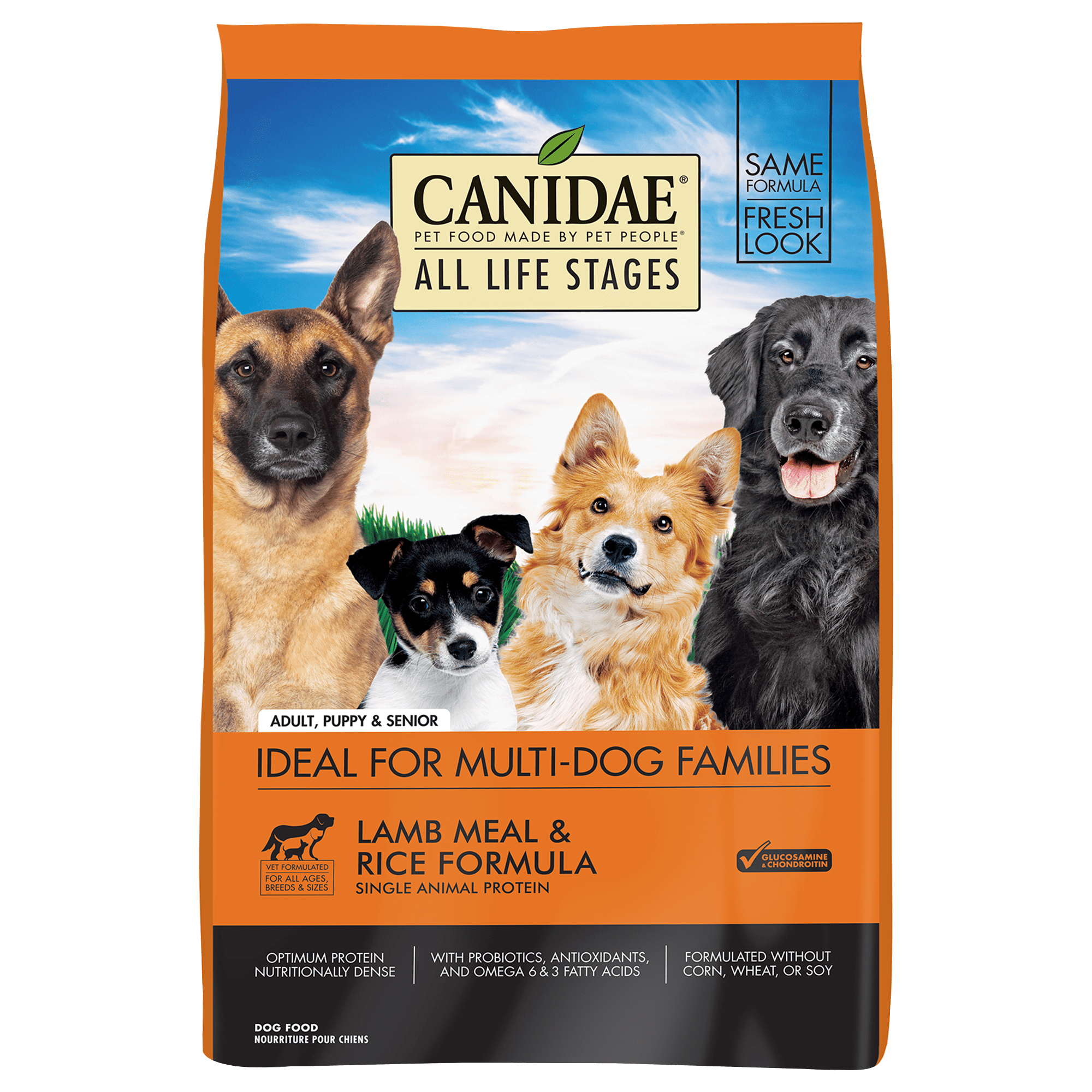 Canidae All Life Stages Lamb Meal & Rice Formula Dry Dog Food, 15-lb