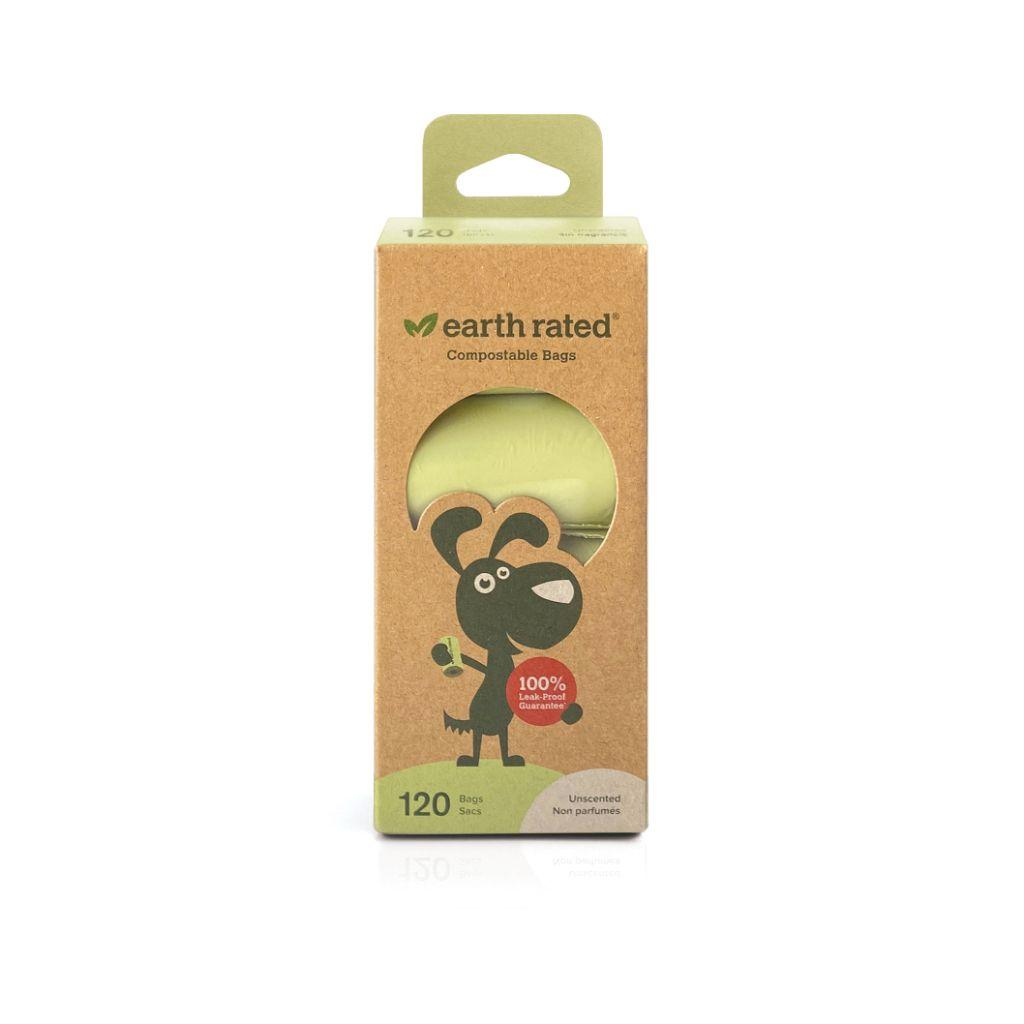 Earth Rated Unscented Certified Compostable Poop Bags Image