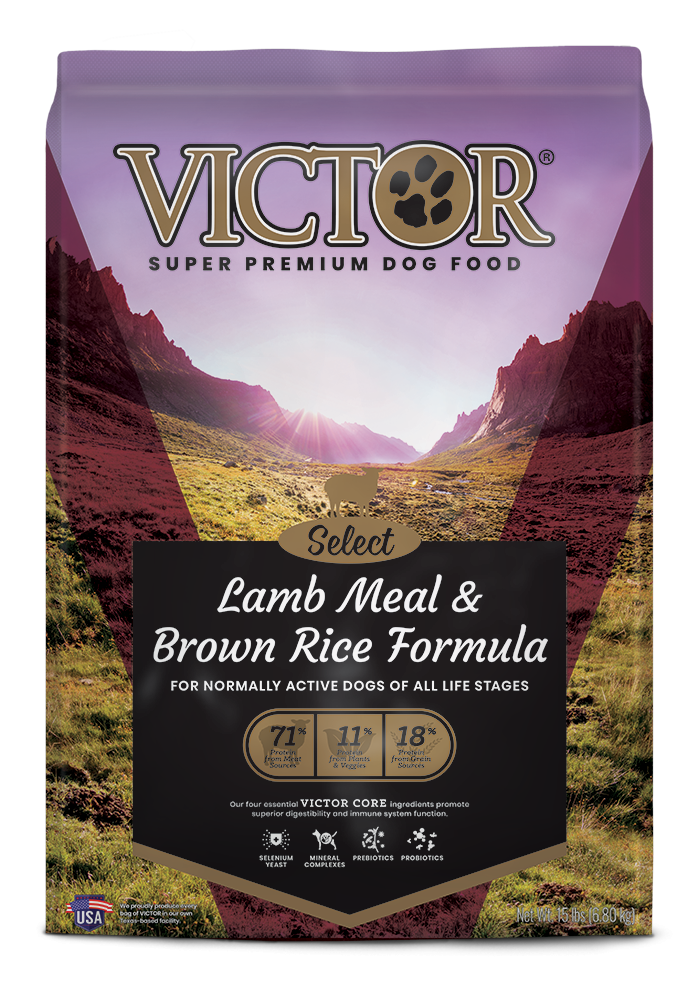 Victor Lamb Meal & Brown Rice Dry Dog Food, 40-lb bag Size: 40-lb bag, Weights: 40.0 pounds