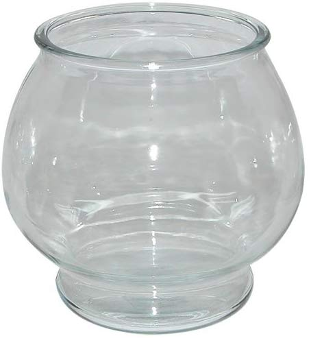 Anchor Hocking Footed Glass Goldfish Bowl Image