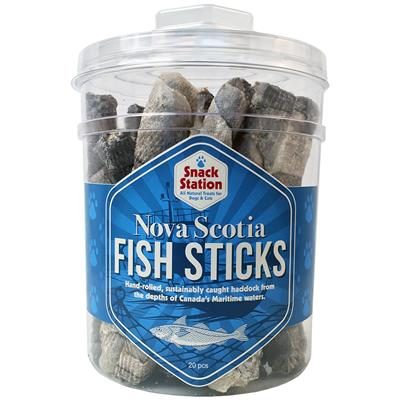This & That Snack Station Fish Skin Dog Treats, 60-count
