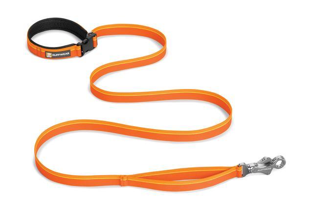 Ruffwear Flat out Dog Leash, Orange Sunset