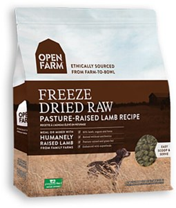 Open Farm Pasture-Raised Lamb Recipe Raw Freeze-Dried Dog Food, 13.5-oz
