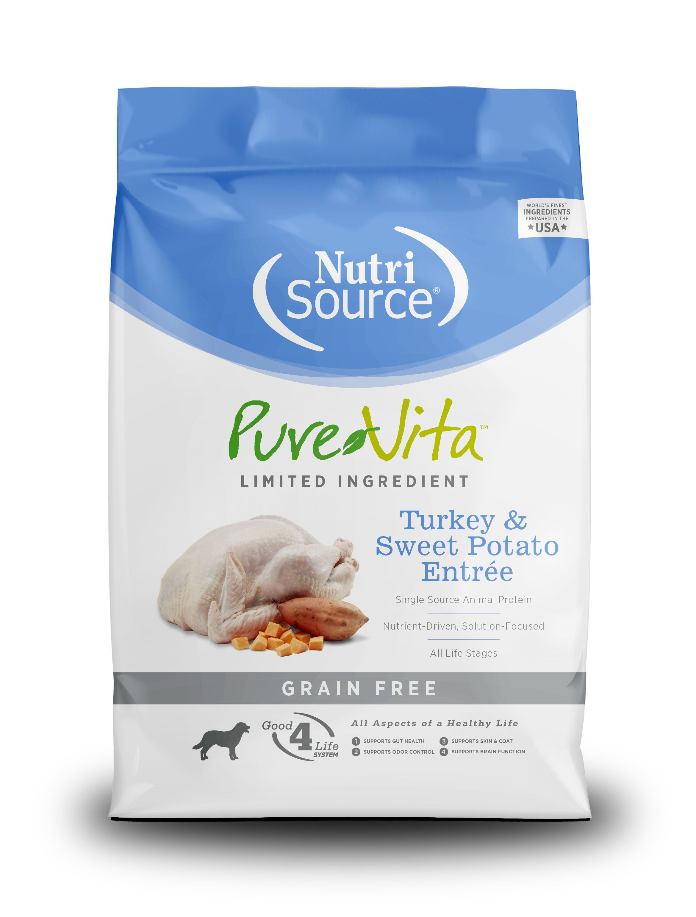PureVita Grain Free Turkey & Sweet Potato Dry Dog Food Image