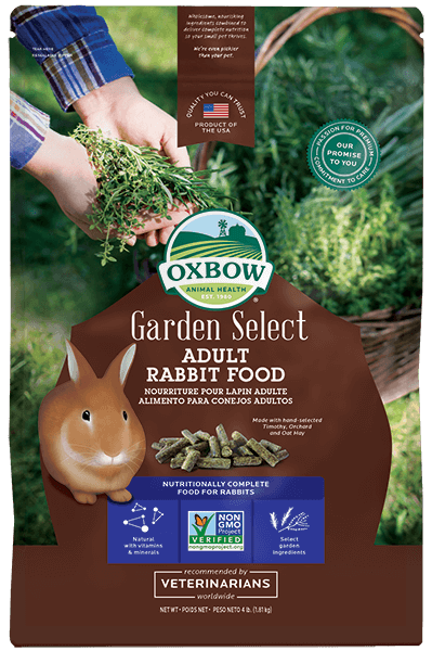 Oxbow Garden Select Adult Rabbit Food, 4-lb bag