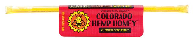 Colorado Honey Ginger Soothe FS Extract Sticks, 1-count (15-mg)