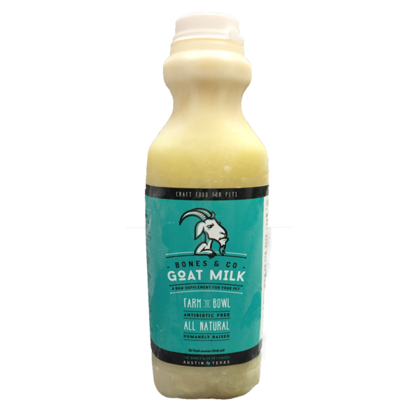 Bones & Co Goat Milk Raw Dog Food, 16-oz