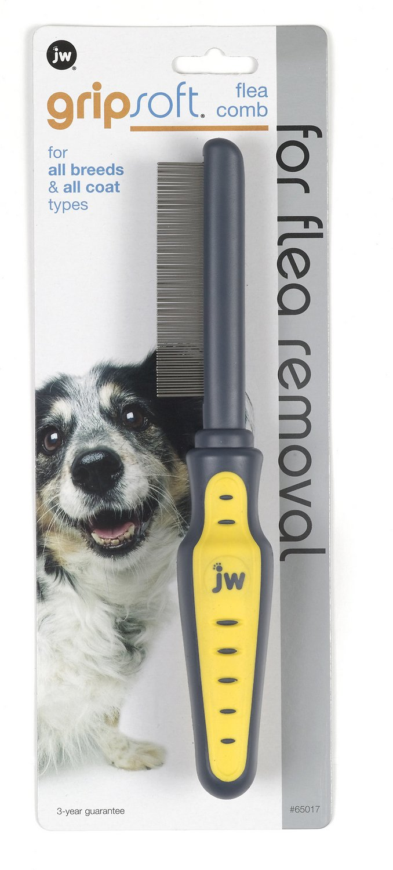 JW Pet Gripsoft Flea Comb