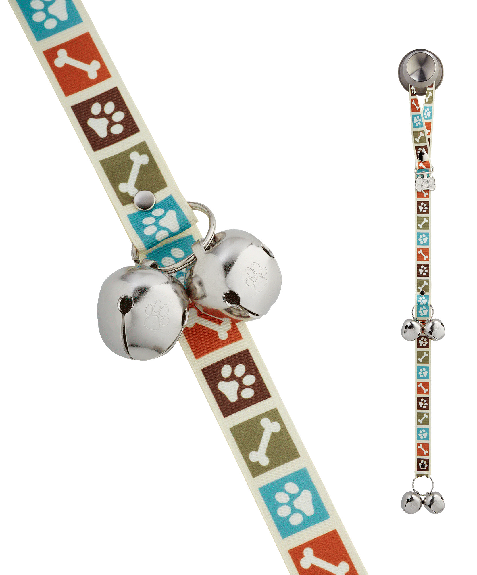 Poochie Bells Potty Doorbell for Dogs, Bone Appetite