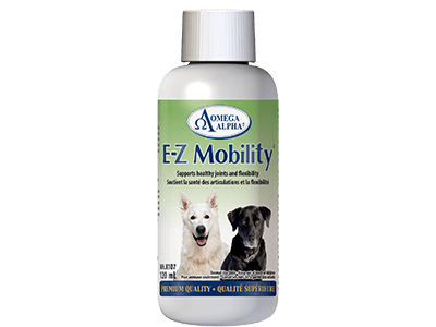 Omega Alpha E-Z Mobility Premium Quality Pet Supplement, 120-mL