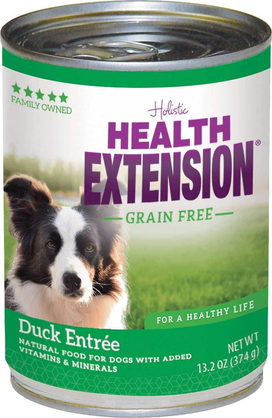Health Extension Duck Entree Grain-Free Canned Dog Food, 13.2-oz