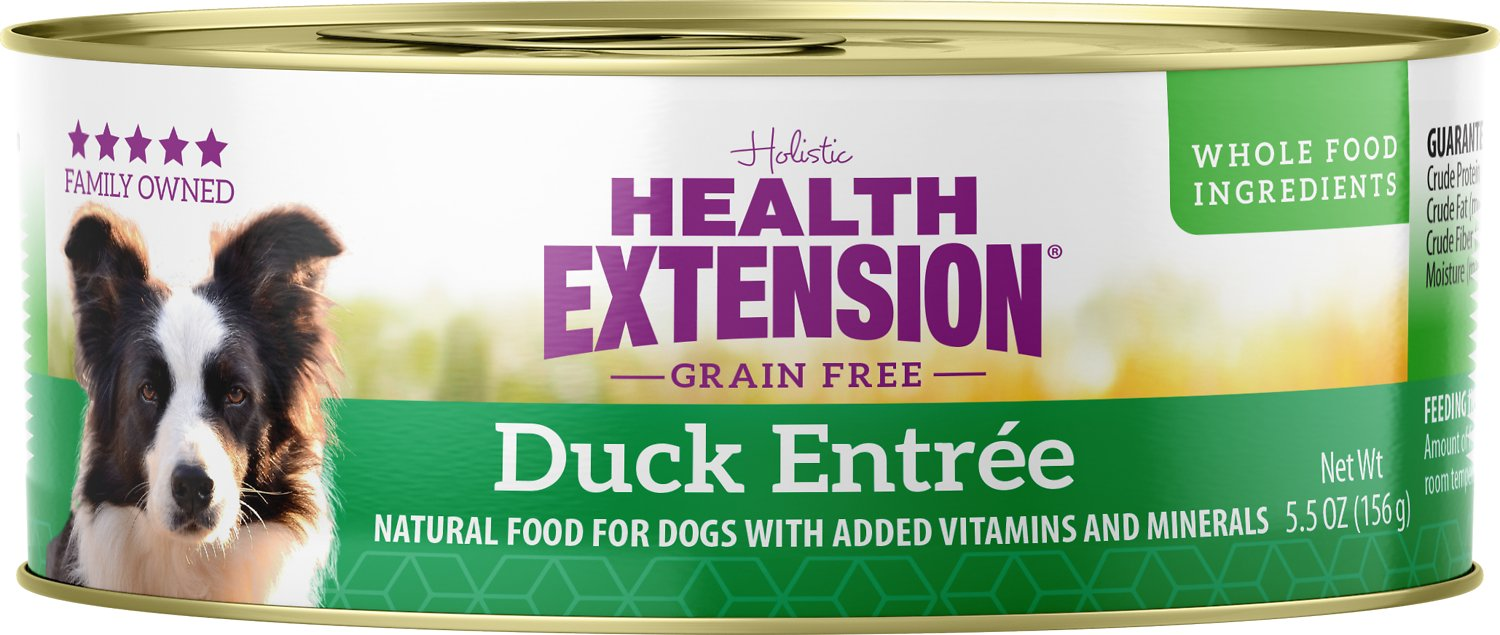 Health Extension Duck Entree Grain-Free Canned Dog Food Image