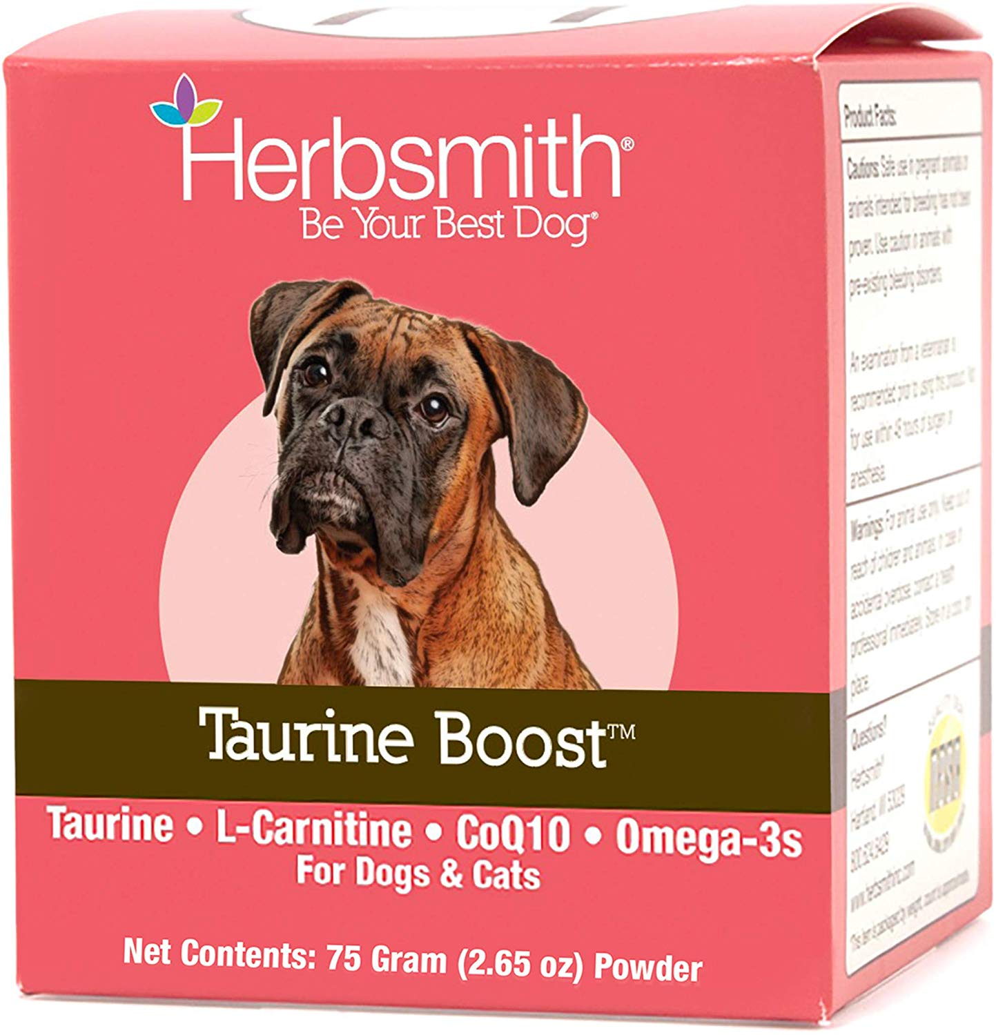Herbsmith Taurine Boost Cat Supplement Powder, 150g