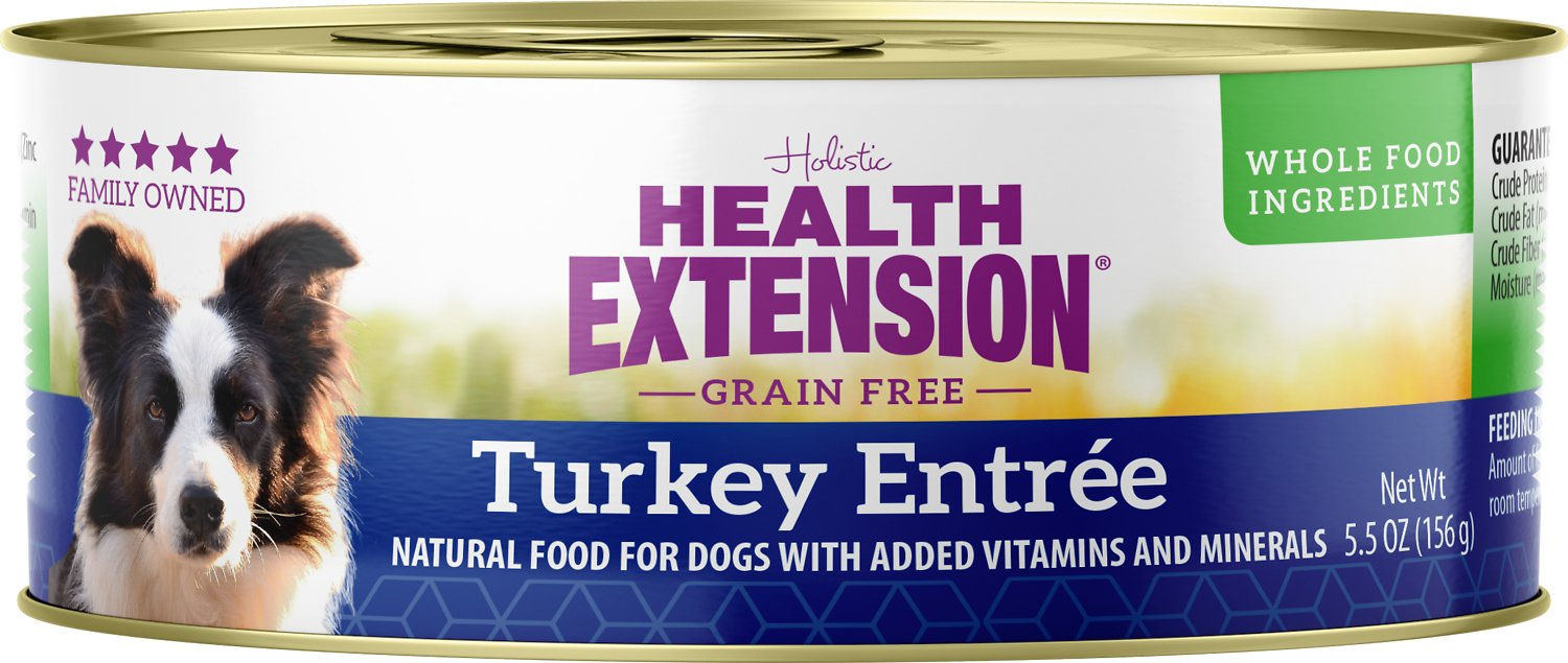 Health Extension Turkey Entree Grain-Free Canned Dog Food Image