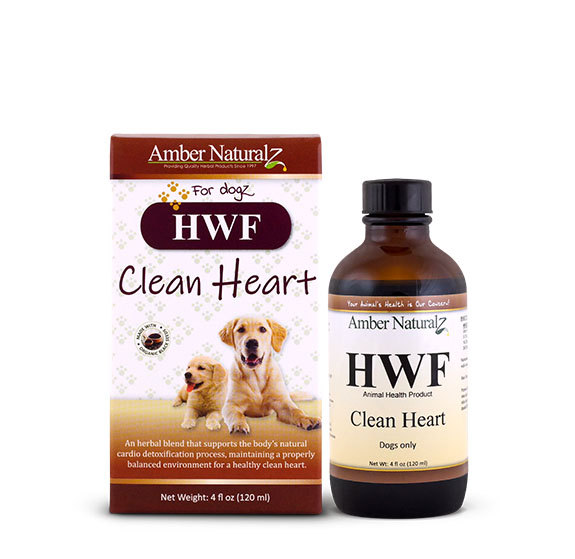 Amber Naturalz HWF Dog Supplement, 4-oz