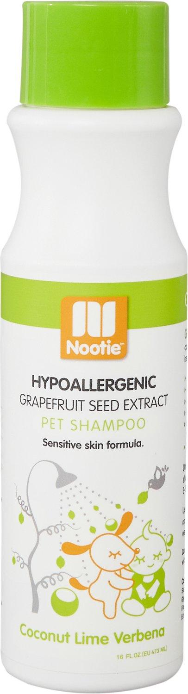Nootie Coconut Lime Verbena Hypoallergenic Formula Dog Shampoo, 16-oz bottle