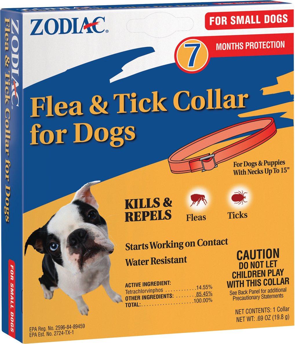 Zodiac Flea & Tick Collar for Small Dogs, 15-in (Size: 15-in) Image