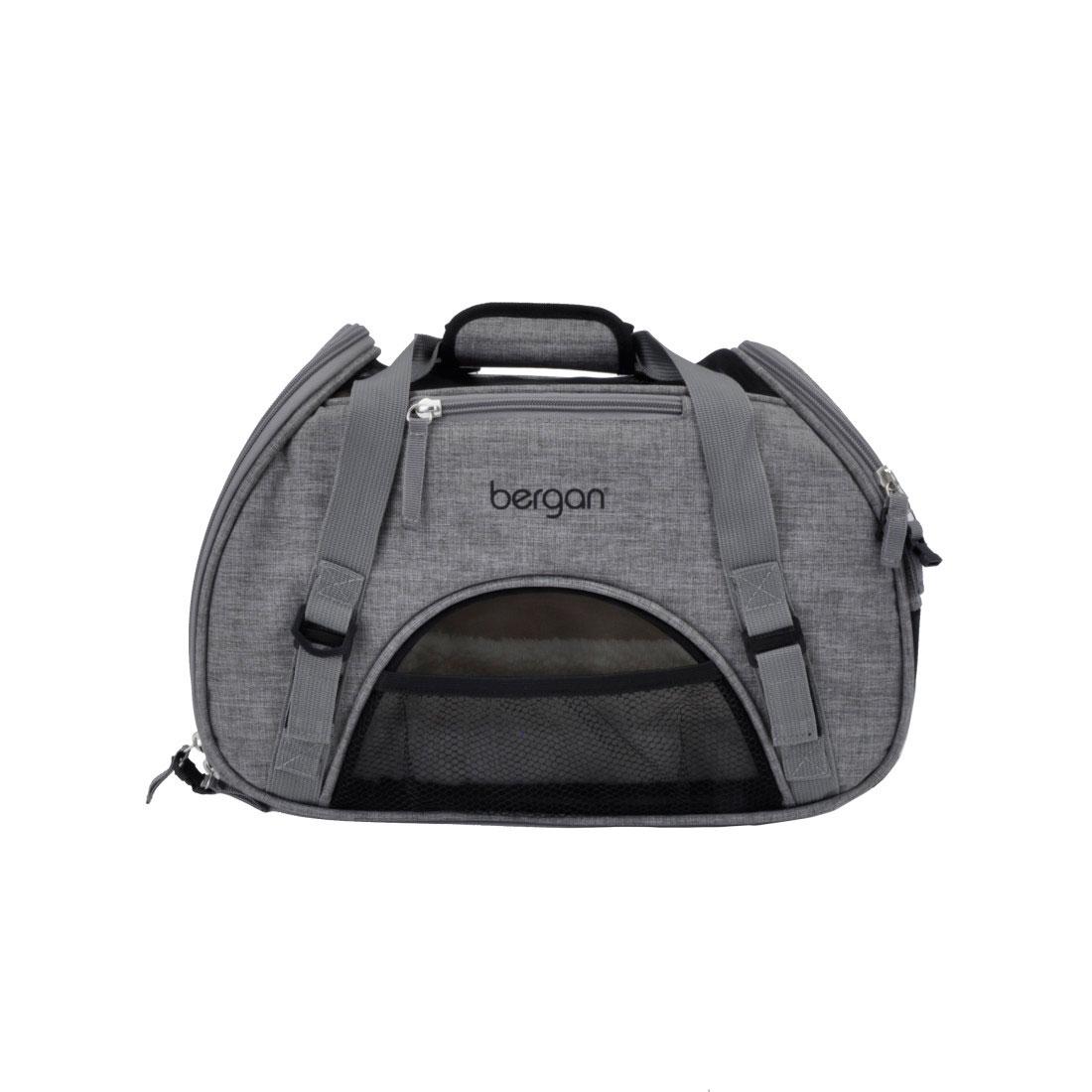 Bergan Comfort Pet Carrier, Heather Grey Image
