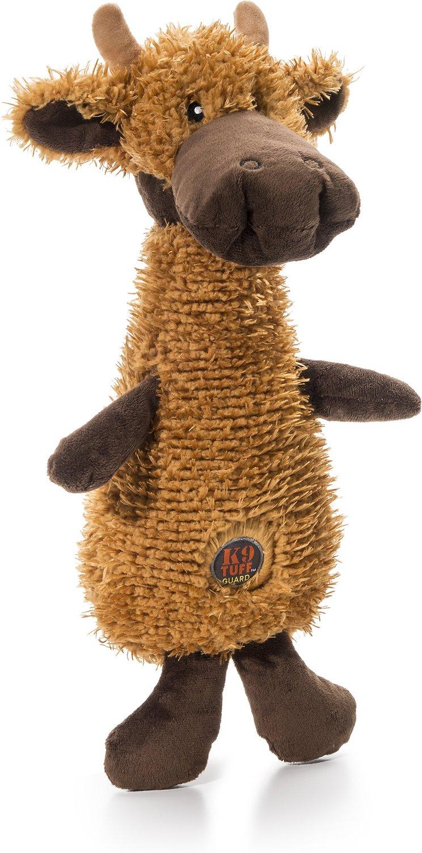Charming Pet Scruffles Moose Dog Toy, Large