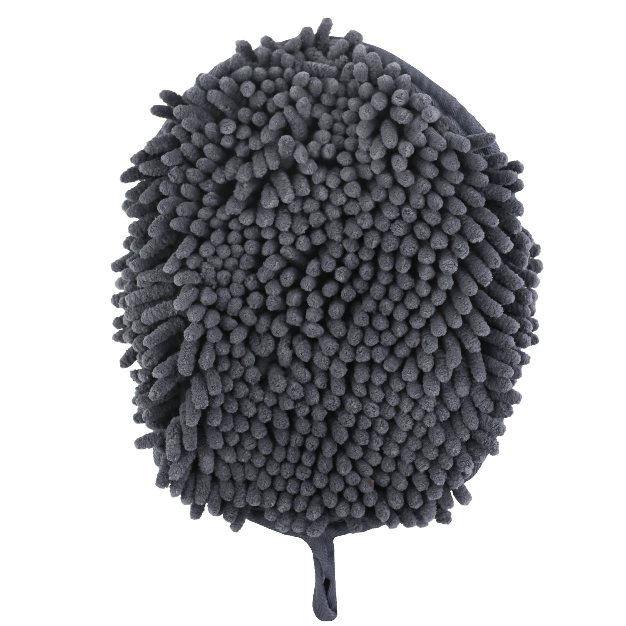 Tall Tails Clean Paws Drying Mitt for Dogs, Charcoal
