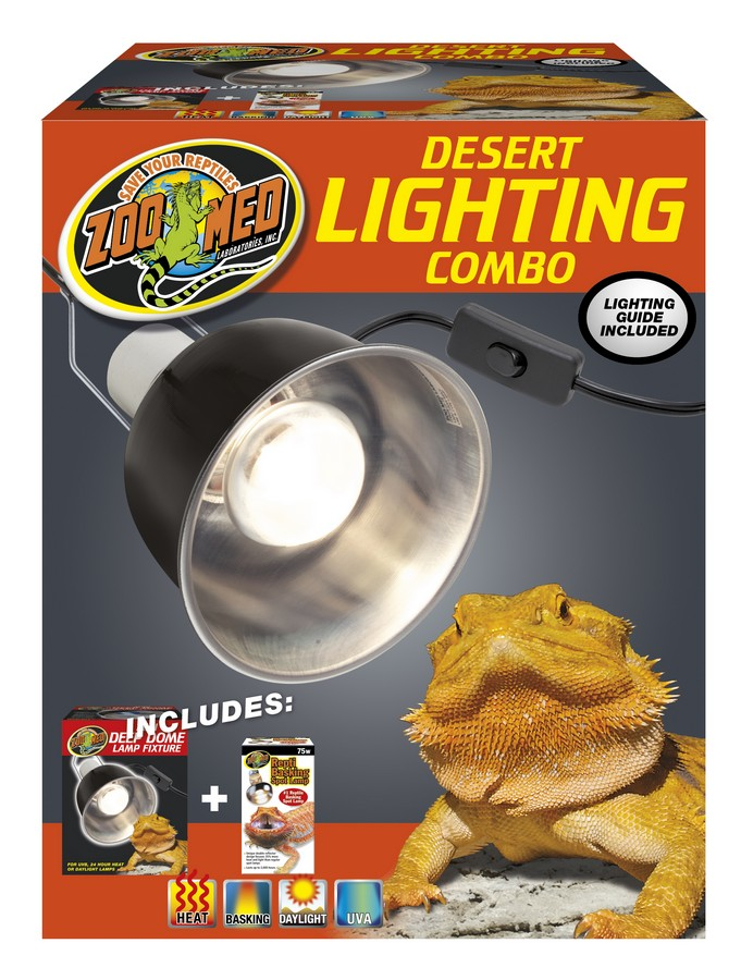 Zoo Med Desert Reptile Lighting Combo Pack