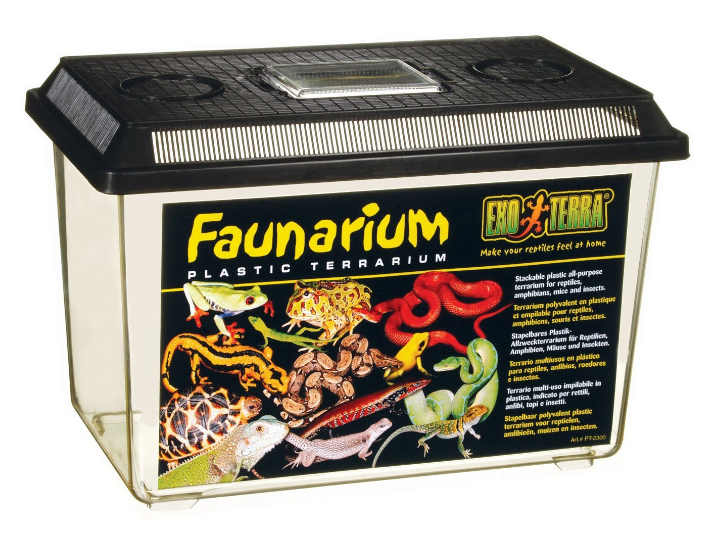 Exo Terra Faunarium Terrarium, Large