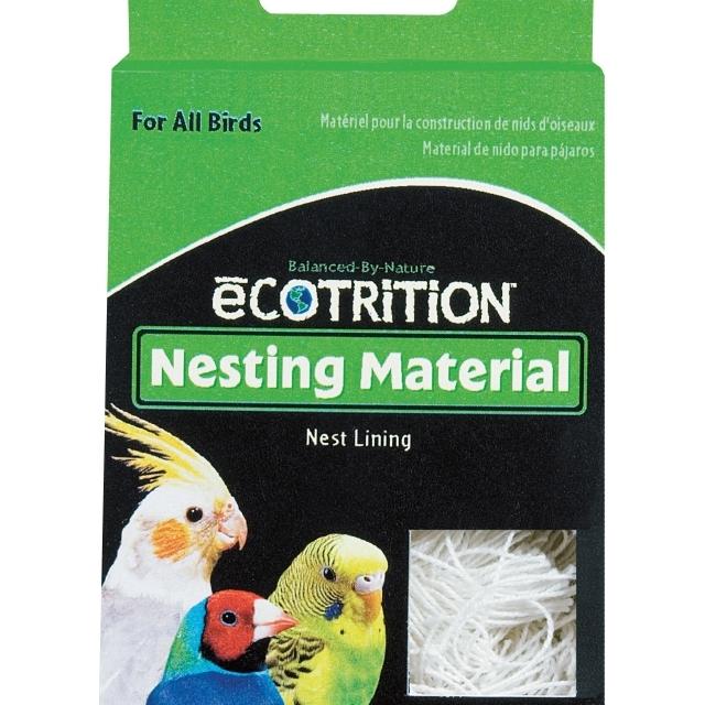 eCOTRITION Nesting Material Bird Nest Lining, 0.25-oz (Size: 0.25-oz) Image