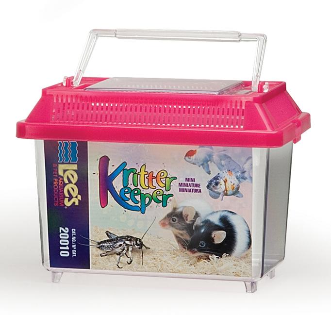 Lee's Kritter Keeper Rectangle Small Animal Habitat Image