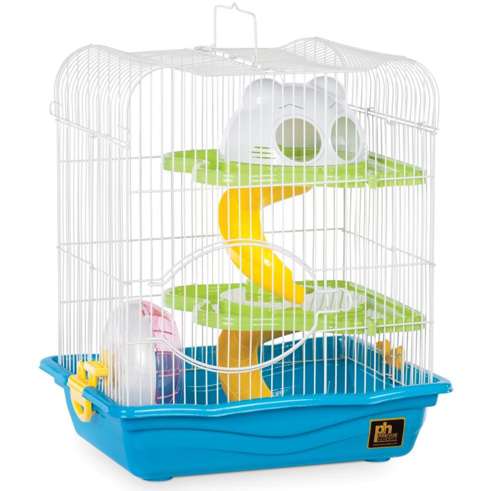 Prevue Pet Products Hamster Haven, Blue, 4-pk
