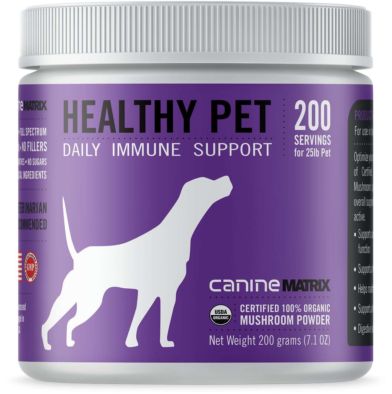 Canine Matrix Healthy Pet Daily Immmune Support Dog Supplement, 200-g