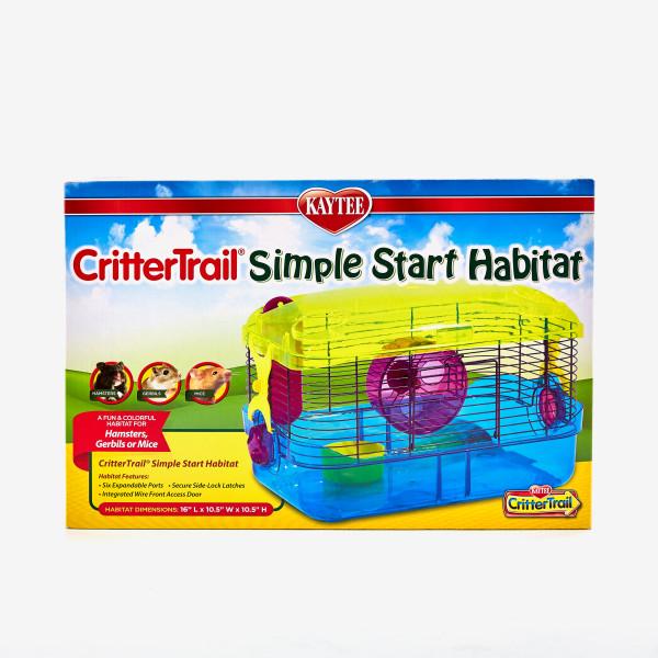 Kaytee CritterTrail Simple Start Small Animal Habitat, 16-in