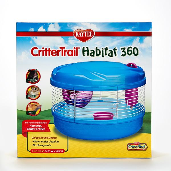 Kaytee CritterTrail 360 Degree Small Animal Habitat, 14.5-in