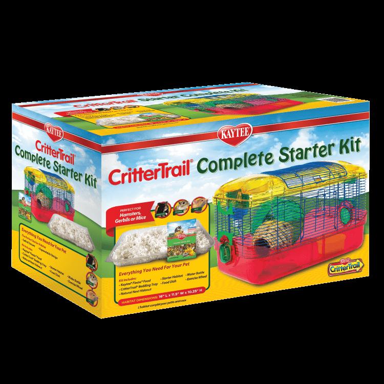Kaytee CritterTrail Complete Small Animal Habitat Starter Kit
