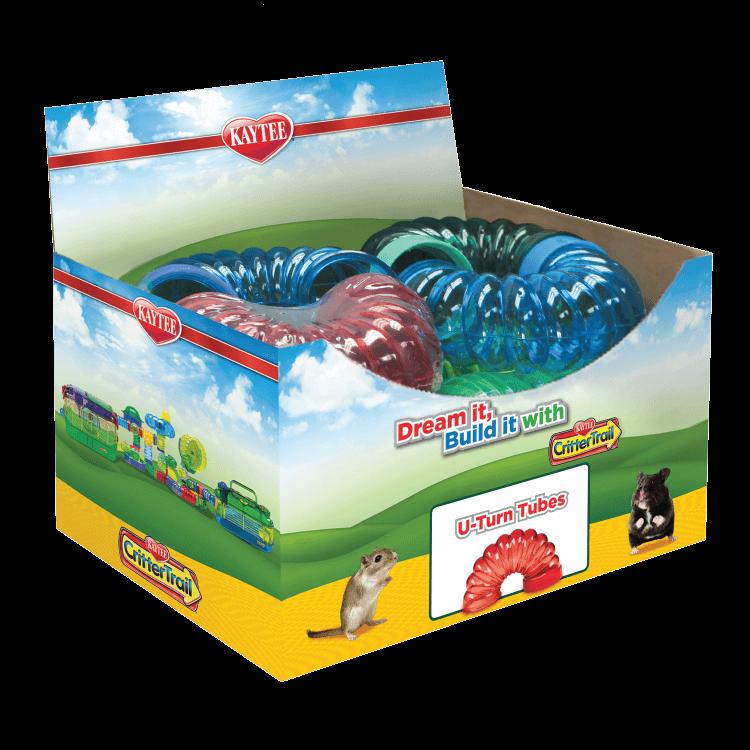 Kaytee CritterTrail Fun-nel U-Turn Hamster Tubes